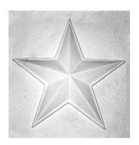 Купить Гипс Орнамент Звезда , Мастерская Экорше , Россия