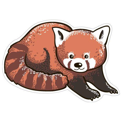 Купить Значок Панда красная , Kawaii Factory, Китай