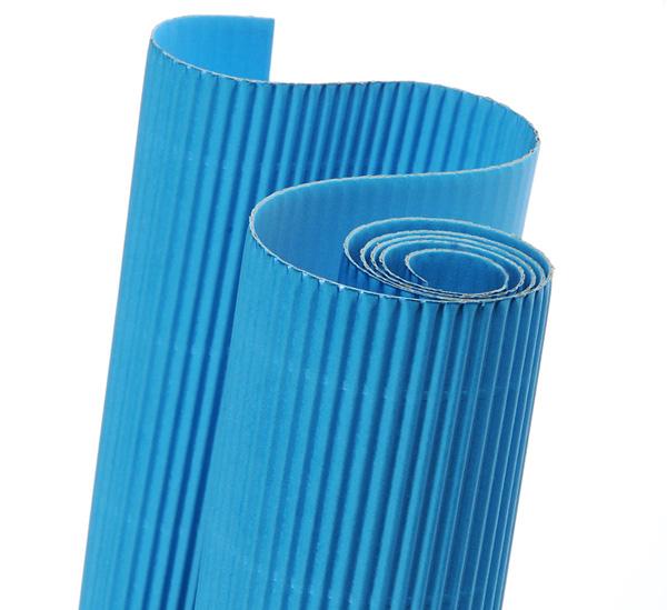 Картон гофрированный Canson 50х70 см голубой фото