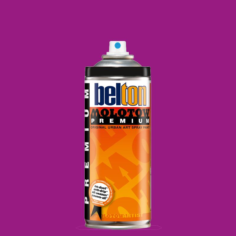 Купить Аэрозольная краска Molotow Premium belton 400 мл #234-1 NEON violet, Германия