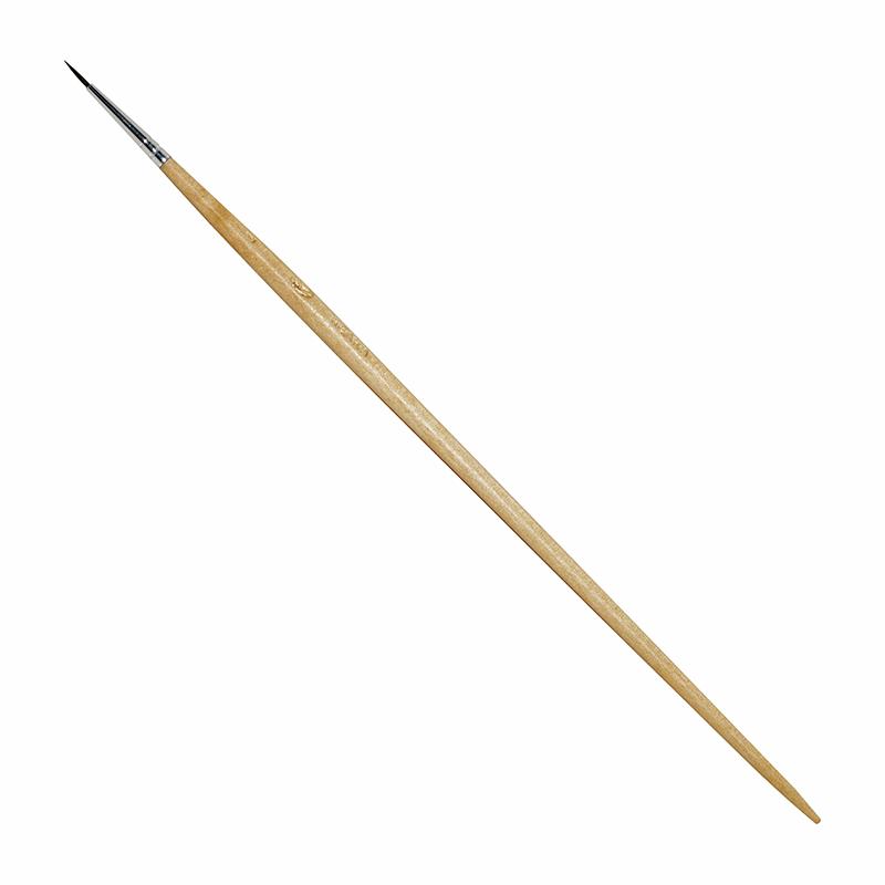 Купить Кисть белка №1 круглая ЦТИ длинная ручка, Россия