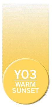 Купить Чернила Chameleon YO3 Теплый закат 25 мл, Chameleon Art Products Ltd., Великобритания