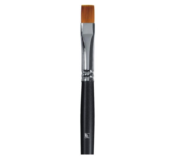 Купить Кисть синтетика №10 плоская Альбатрос Мастер короткая ручка, Россия