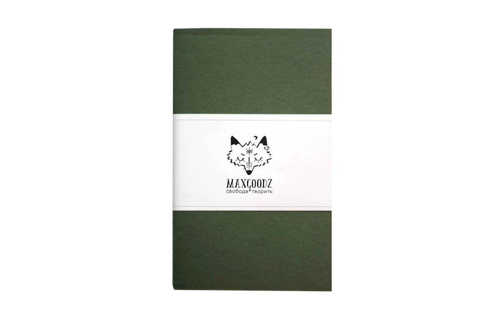 Купить Скетчбук для маркеров Maxgoodz Classic White А5, 32 л, 160 г Болотный, Россия