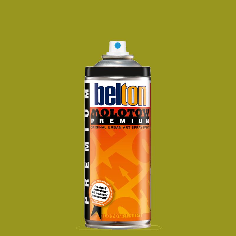 Купить Аэрозольная краска Molotow Premium belton 400 мл #180 green bean, Германия