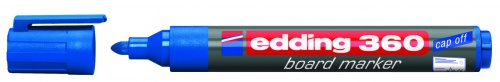 Купить Маркер для доски Edding 360 1, 5-3 мм с круглым наконечником, синий, Германия