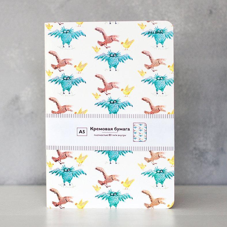 Купить Блокнот FALAFEL BOOKS А5 Owls, Россия