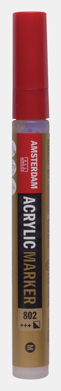 Купить Маркер акриловый Talens Amsterdam 4 мм №802 Серебряный, Royal Talens, Россия