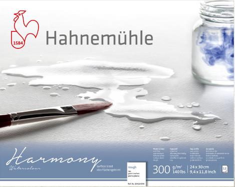 Купить Альбом-склейка для акварели Hahnemuhle Harmony 21х29, 7 см 300 г 12 л крупное зерно, целлюлоза 100%, HAHNEMUHLE FINEART, Германия