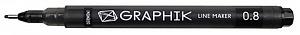 Купить Линер Derwent LINE MAKER 0, 8 мм черный