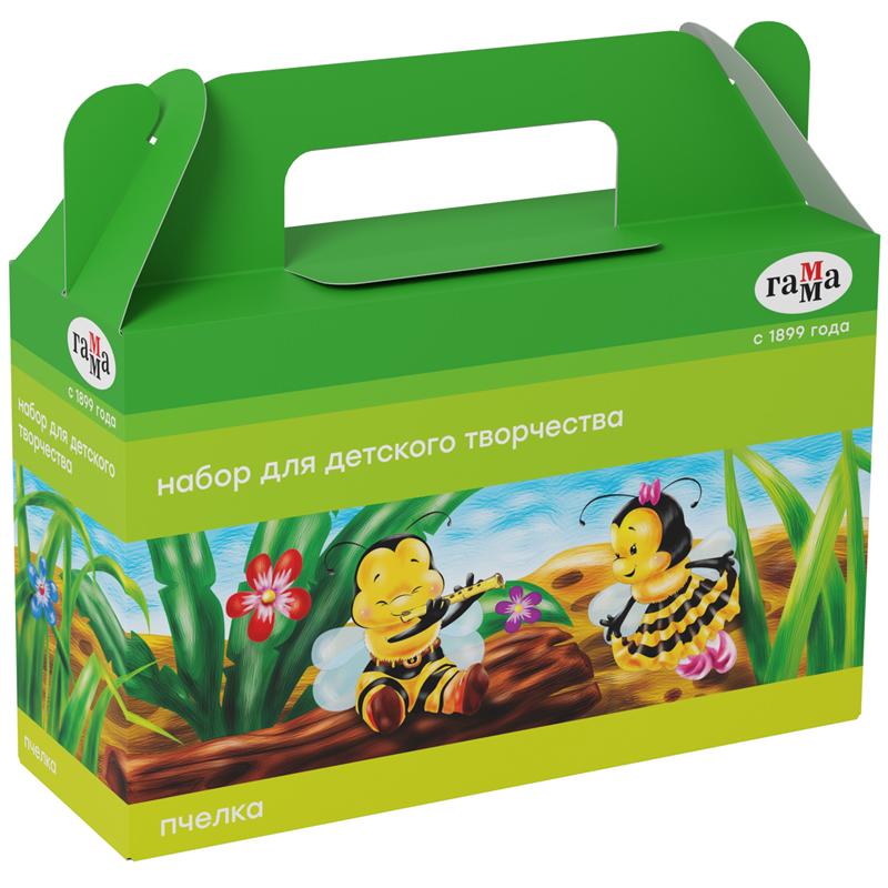 Купить Набор для детского творчества Гамма Пчелка , в подарочной коробке, Россия