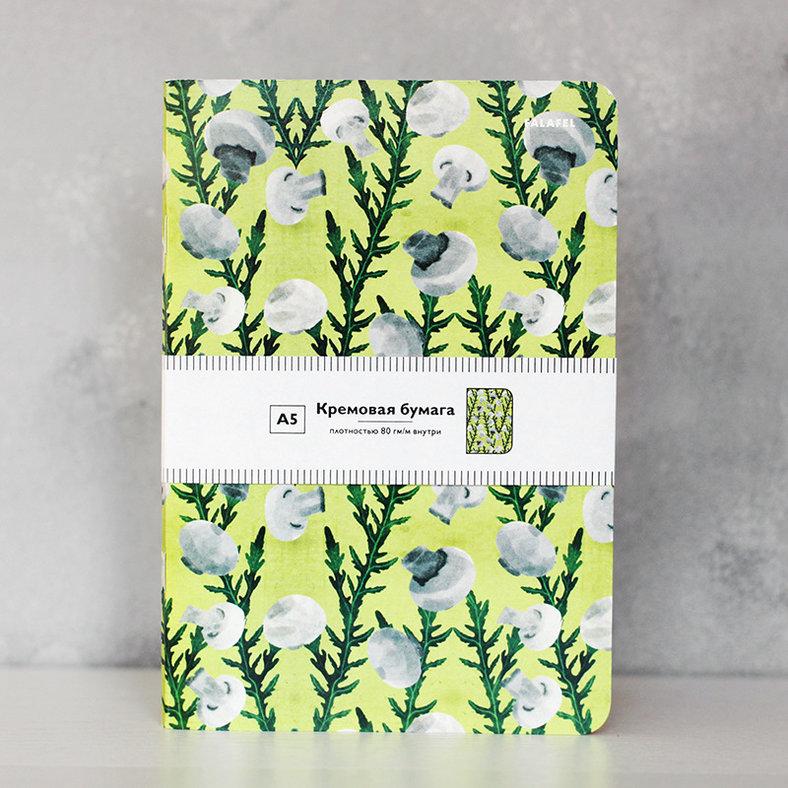 Купить Блокнот FALAFEL BOOKS А5 Mushroom, Россия