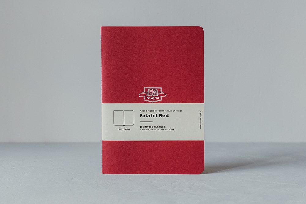 Купить Блокнот FALAFEL BOOKS А5 Red, Россия