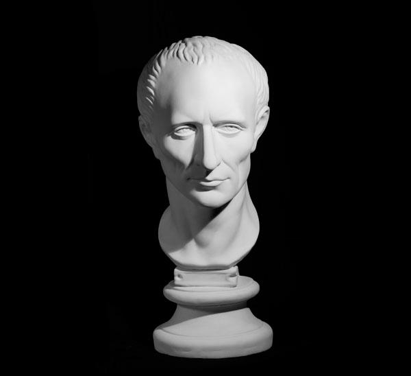 Купить Гипс Голова Цезаря, Мастерская Экорше , Россия