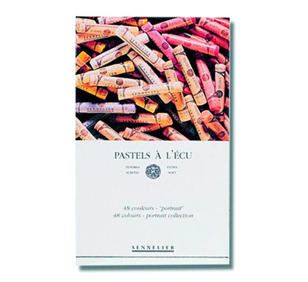 Купить Набор сухой пастели Sennelier A LECU 48 цв портрет, в картонной коробке, Франция