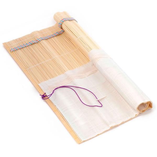 Пенал-коврик для кистей бамбуковый 33*33 см
