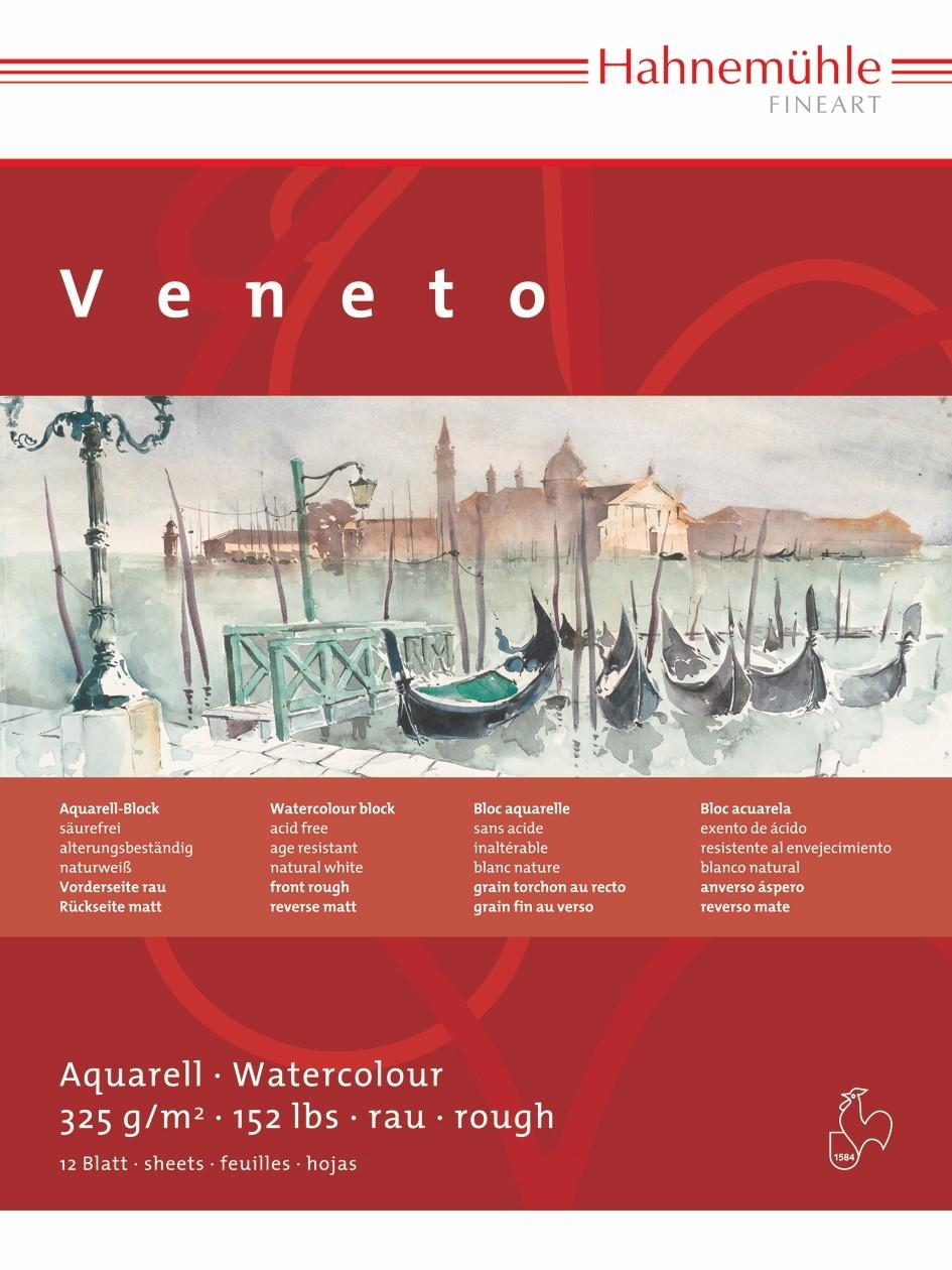 Купить Альбом-склейка для акварели Hahnemuhle Veneto 24х32 см 12 л 325 г целлюлоза 100%, HAHNEMUHLE FINEART, Германия