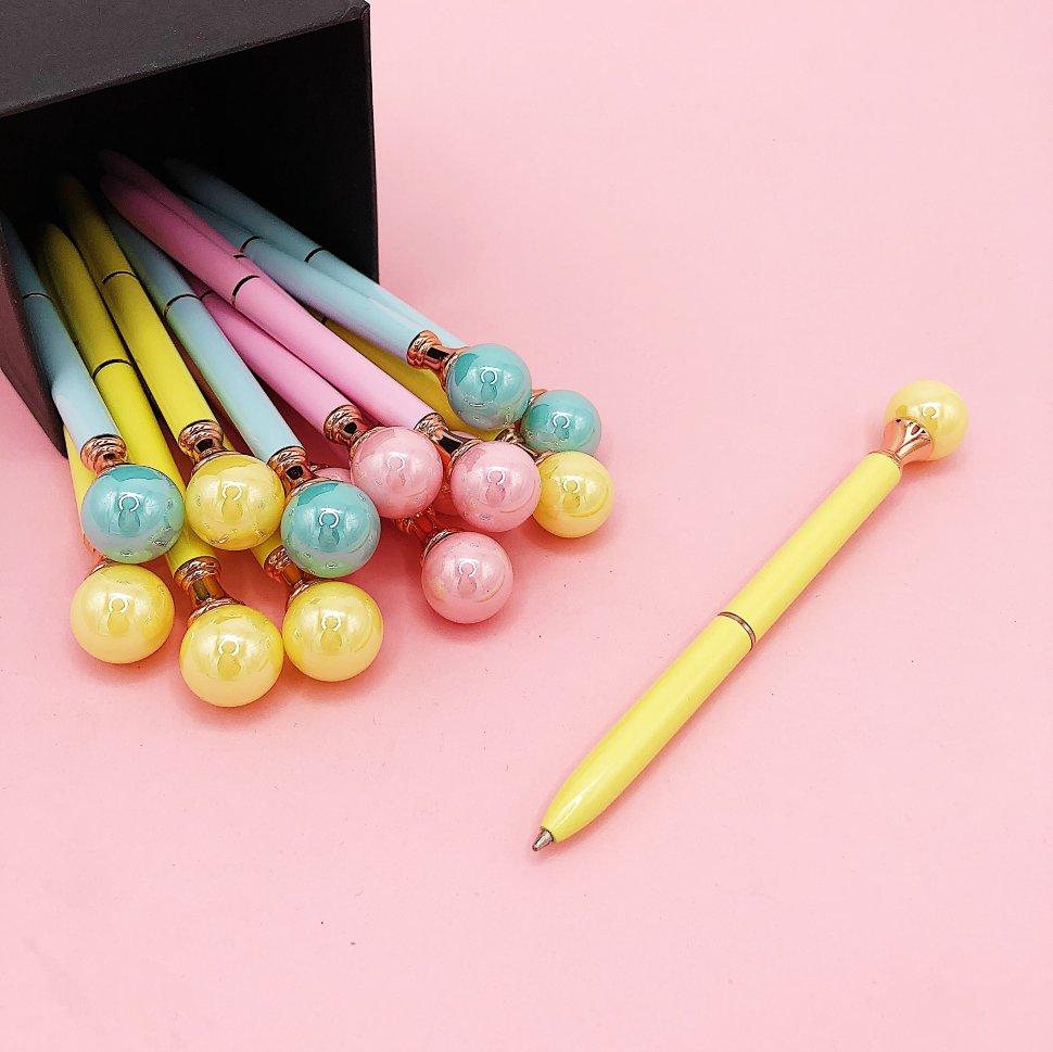 Купить Ручка Pearl , yellow, iLikeGift, Китай