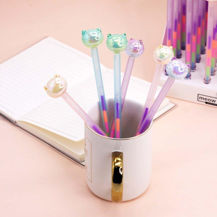 Купить Ручка Meow cat , mix, iLikeGift, Китай