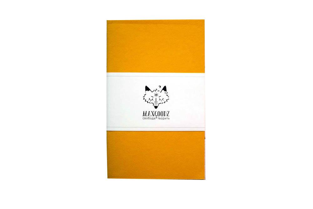 Купить Скетчбук для маркеров Maxgoodz Classic White А5, 32 л, 160 г Желтый, Россия