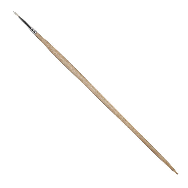 Купить Кисть щетина №1 круглая ЦТИ длинная ручка, Россия