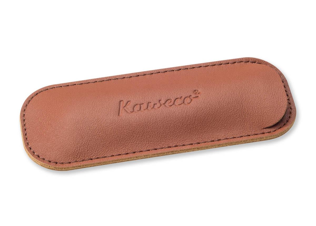 Купить Чехол для ручек Kaweco ECO для 2 ручек Sport кожаный, коричневый, Германия