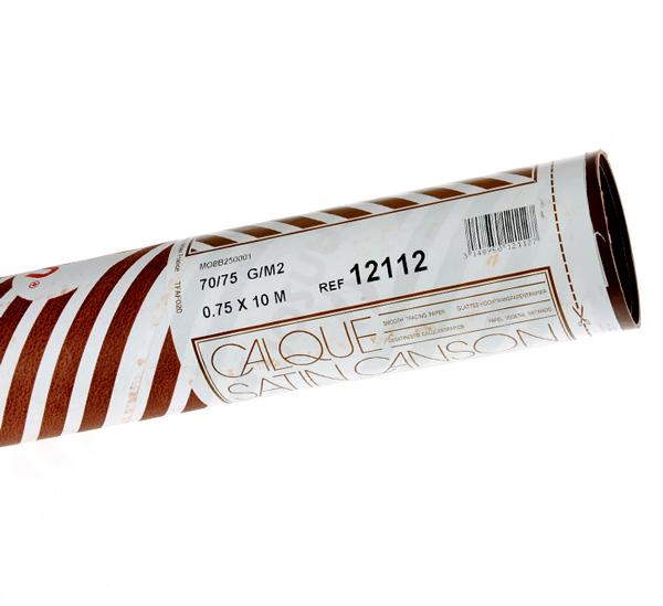 Калька универсальная Canson рулон 0,75х10 м 70 г фото