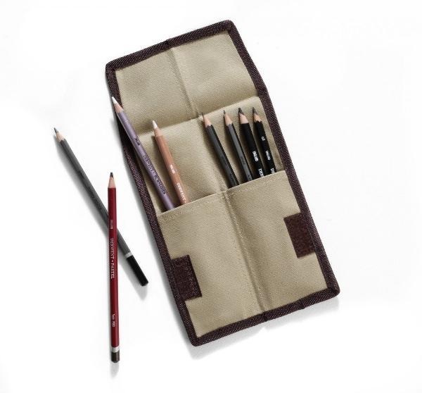 Пенал-Свиток для карандашей Derwent карманный  - купить со скидкой