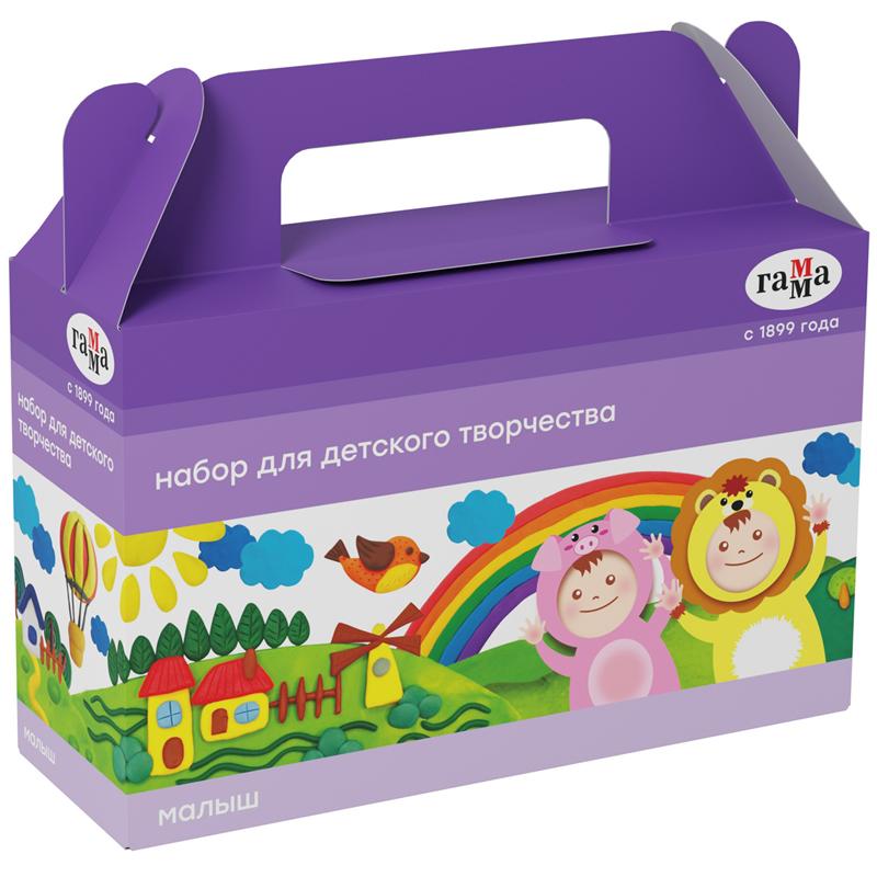 Купить Набор для детского творчества Гамма Малыш , в подарочной коробке, Россия