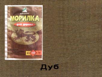 Купить Морилка порошковая водорастворимая АНЛЕС, цвет дуб 10 г, Татьянка, Россия