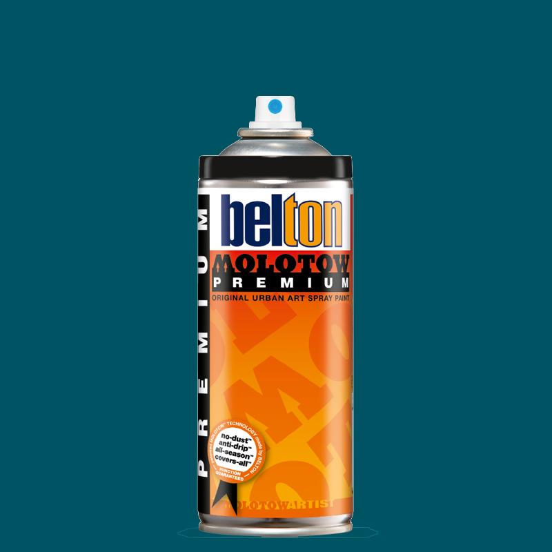 Купить Аэрозольная краска Molotow Premium belton 400 мл #116 alga, Германия