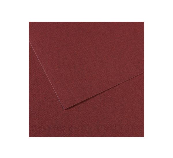 Купить Бумага для пастели Canson MI-TEINTES 75x110 см 160 г №503 вишневый, Франция