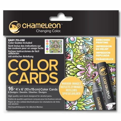 Купить со скидкой Раскраска-склейка Chameleon Mirror Images Зеркальные изображения