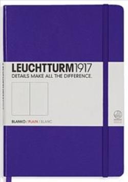 Купить Книга для записей нелинованный Leuchtturm1917 MEDIUM А5 249 л фиолетовый, Германия