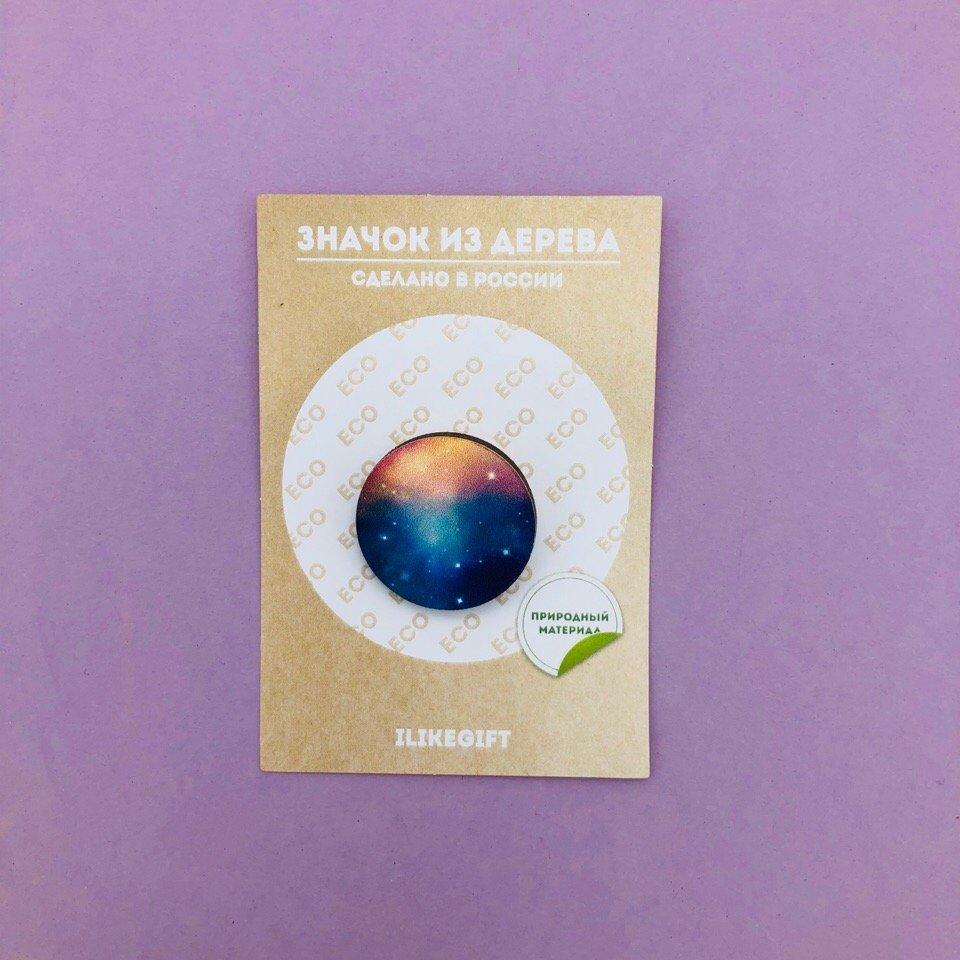 Купить Значок Kosmos , iLikeGift, Китай