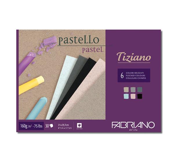Купить Альбом-cклейка для пастели Fabriano Tiziano Brizzati Colour 6 цветов, А3 30 л 160 г, Италия