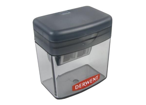 Купить Точилка для карандашей Derwent двойная с контейнером