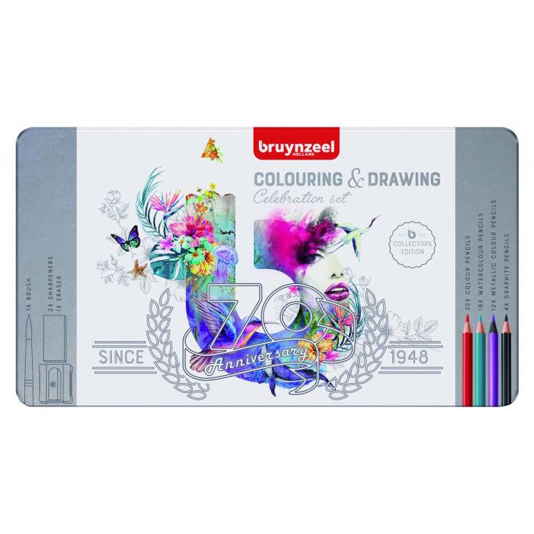 Набор карандашей цветных Bruynzeel
