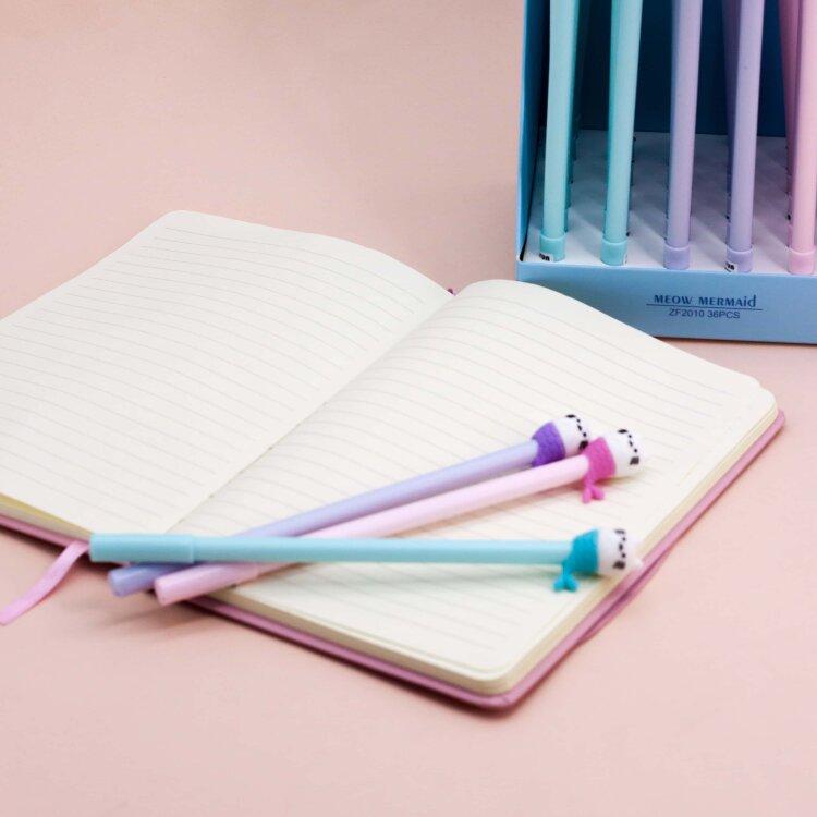 Купить Ручка Cat-mermaid , mix, iLikeGift, Китай