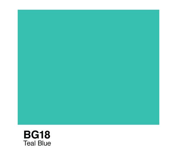 Чернила COPIC BG18 (чирок синий, teal blue) фото