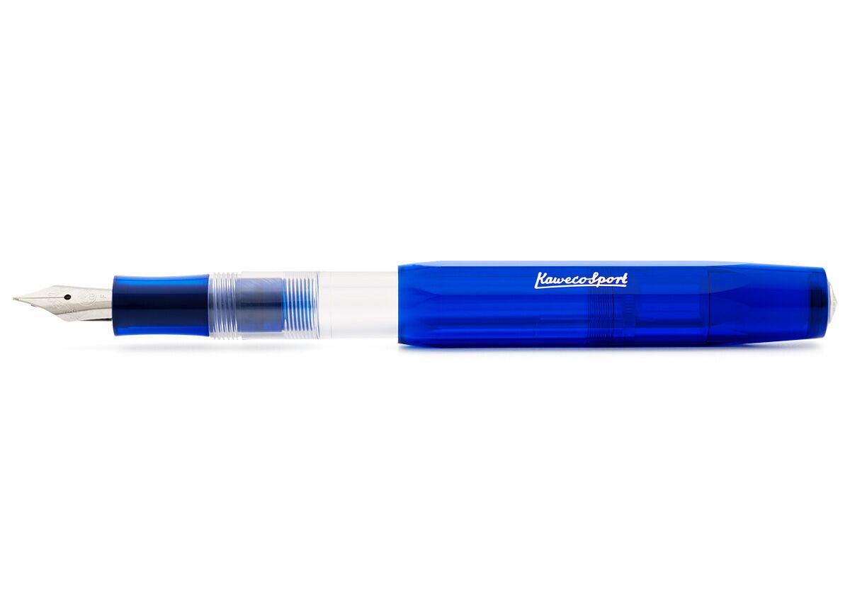 Купить Ручка перьевая Kaweco ICE Sport EF 0, 5 мм, чернила синие, корпус синий, Германия