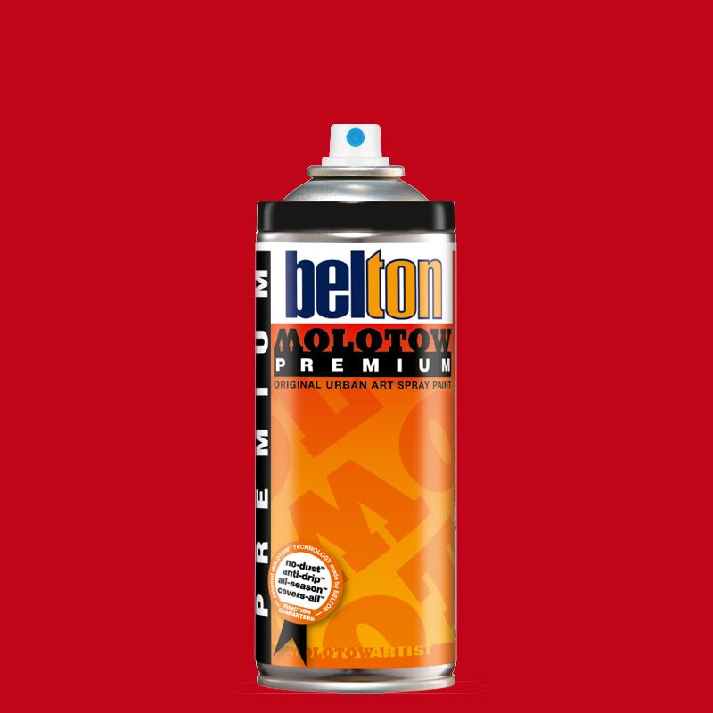 Купить Аэрозольная краска Molotow Premium belton 400 мл #033 signal red, Германия