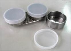 Купить Масленка одинарная d-4, 5 см металлическая-цилиндр, с крышкой пластиковой, Китай