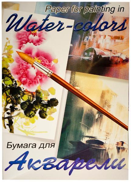 Купить Папка для акварели Лилия Холдинг Китайский пейзаж / Балет А2 20 л 200 г, Россия