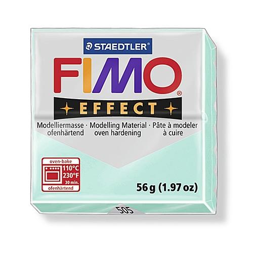 Купить Пластика для запекания Staedtler Fimo Effect 56 г пастельный мятный, Германия