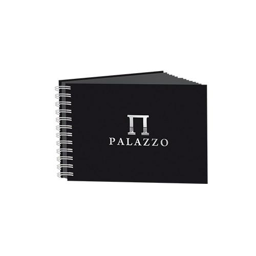 Купить Блокнот для эскизов Лилия Холдинг PALAZZO А5 60 л 160 г офсет черный, Россия