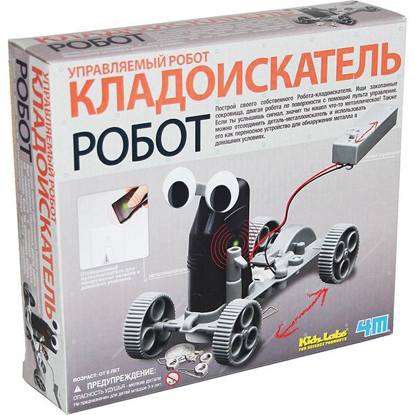Купить Набор для исследований 4M Управляемый робот кладоискатель , 4М, Китай