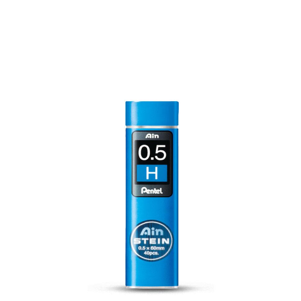 Купить Набор грифелей для механического карандаша Pentel Ain Stein 40 шт 0, 5 мм, H, Япония