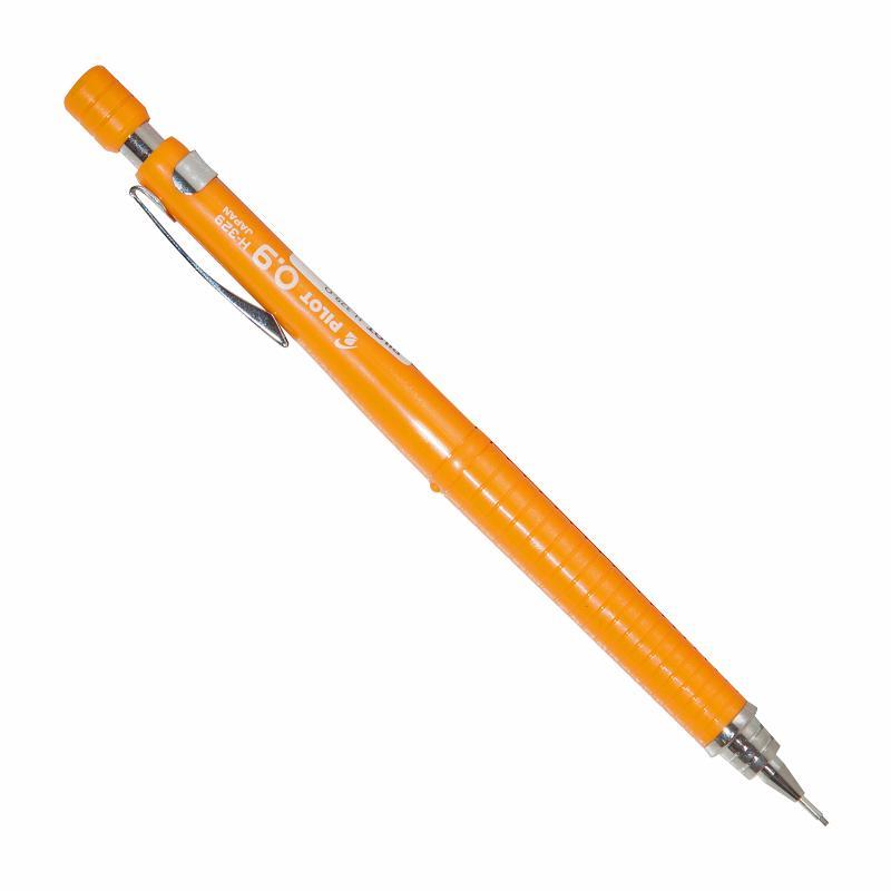 Купить Карандаш механический Pilot 0, 9 мм, оранжевый корпус, Япония