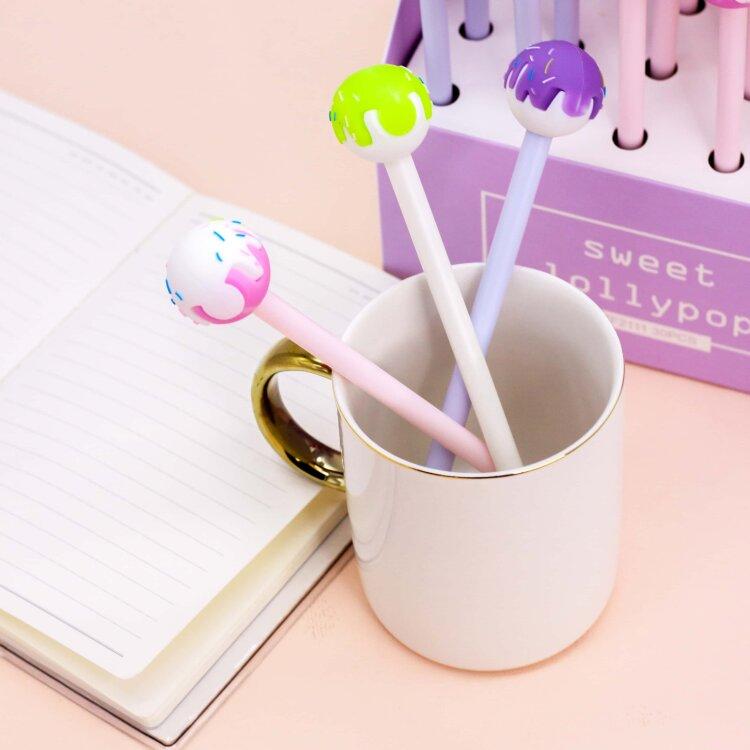 Купить Ручка Sweet lollypop , mix, iLikeGift, Китай